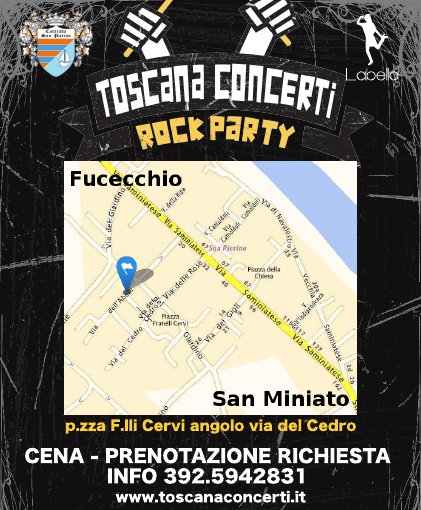 Sound Pierino Rock Party 2014 Volantino Retro